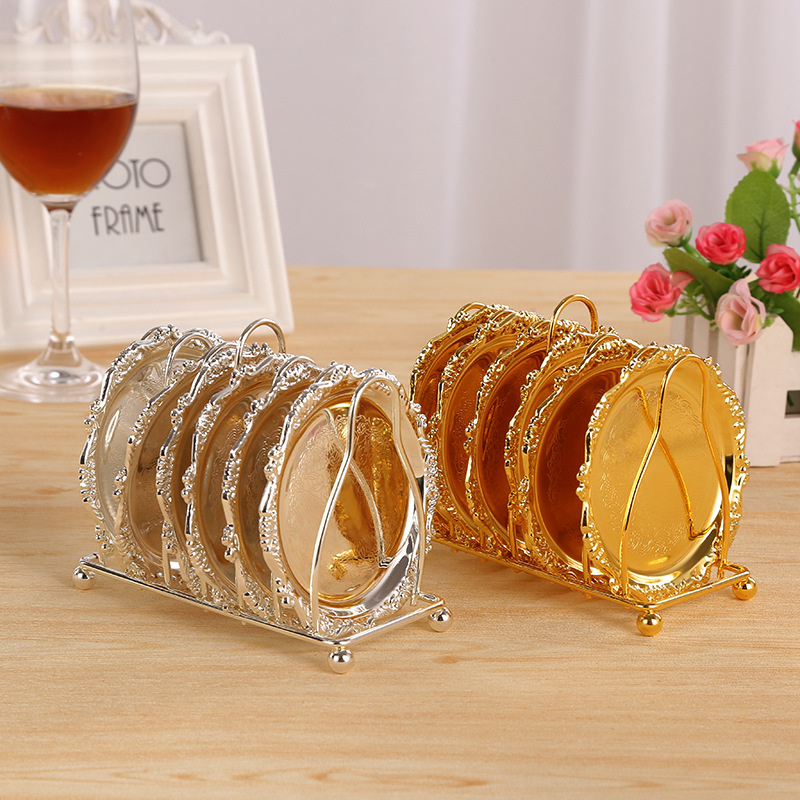 Luxury Gold Plated Snack Dish Silver Plated Small Dessert
