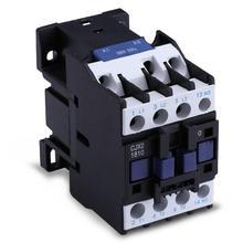 LC1D AC Contactor CJX2-1810 18A NO 3-Phase DIN Rail Mount Electric Power Contactor 24V 36V 110V 220V 380V