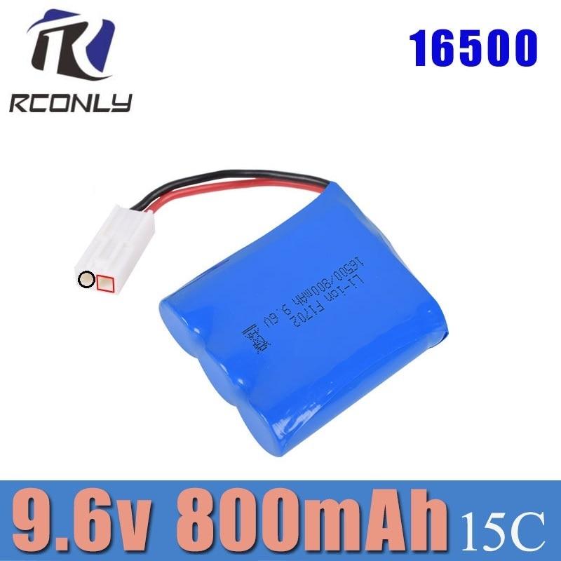 9115 bateria 9.6v bateria rc 9115 monster truck bateria de reposição recarregável 9.6v 800mah para carro rc EL-2P plug 16500 dj02