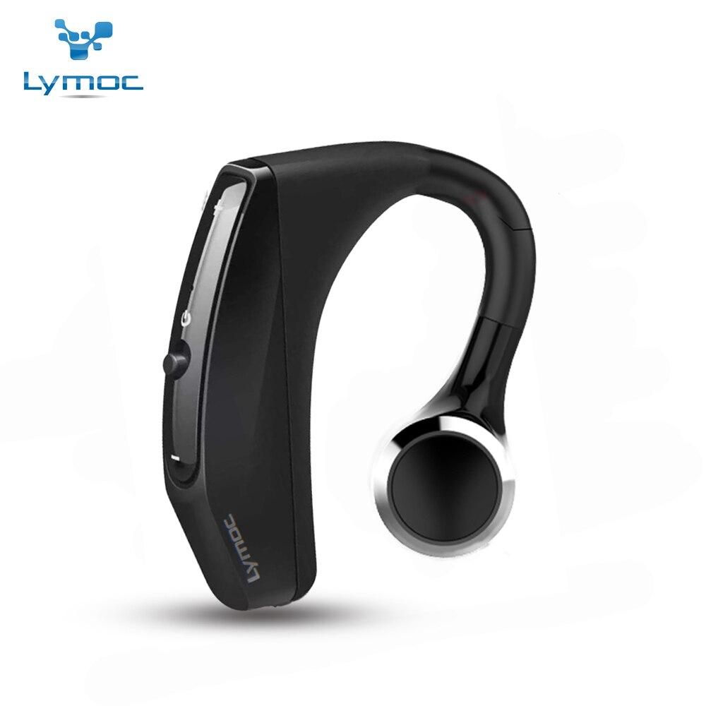 LYMOC Sans Fil Bluetooth Écouteurs Conduite de Travail Sport Casques Intra-auriculaires Antibruit MICRO Casque Mains Libres pour Tous Les Téléphones