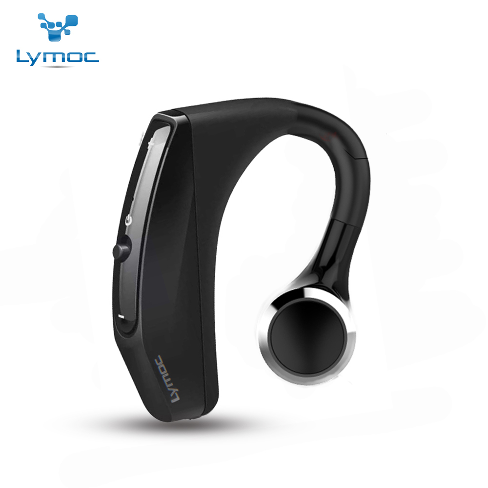 LYMOC Wireless Bluetooth Earphones Driving Working Sport Headsets Earbud Noise Cancelling MIC Headphone Handsfree for All Phone mvpower anti radiation wired telephone headsets portable headphone earphones with mic for all kinds telephone cell phones tablet