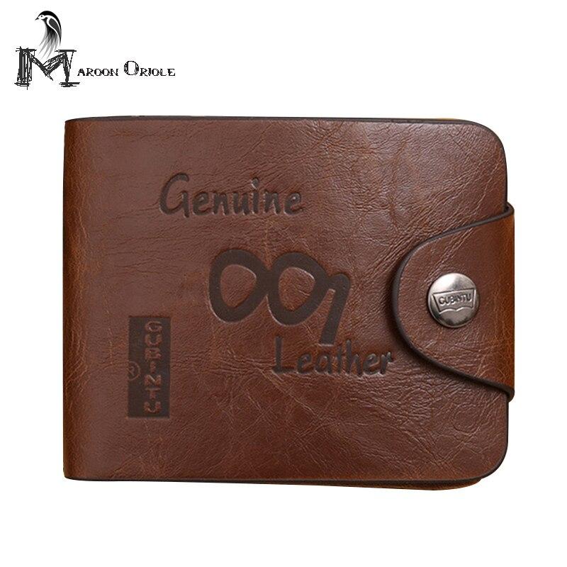 Genuine Crazy Horse Cowhide Leather Men Wallet Short Vintage Wallet jtc отвертка шлиц силовая sl6 5 x 100 мм jtc 3467