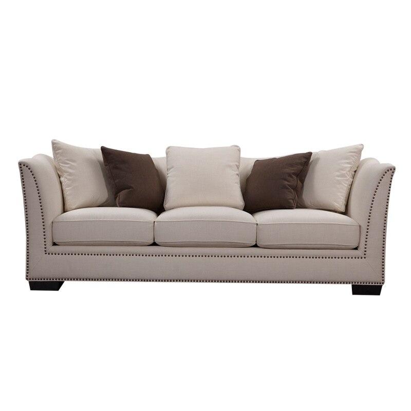 luxury sofa sets fabric sofa modern sofa set for home furniture 3seater - Modern Sofas