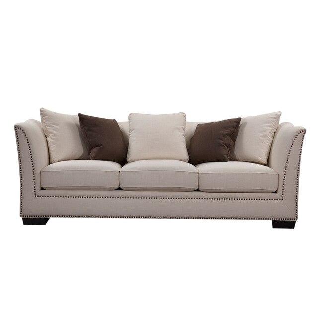 Sofá de lujo establece tela Chesterfield sofá moderno sofá muebles ...