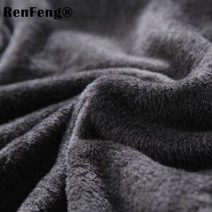Image 5 - Dài tay áo cotton nam có cổ cao cấp t áo mùa đông 2018 Slim Fit Dép Nỉ Rùa cổ t áo sơ mi nam quần lót