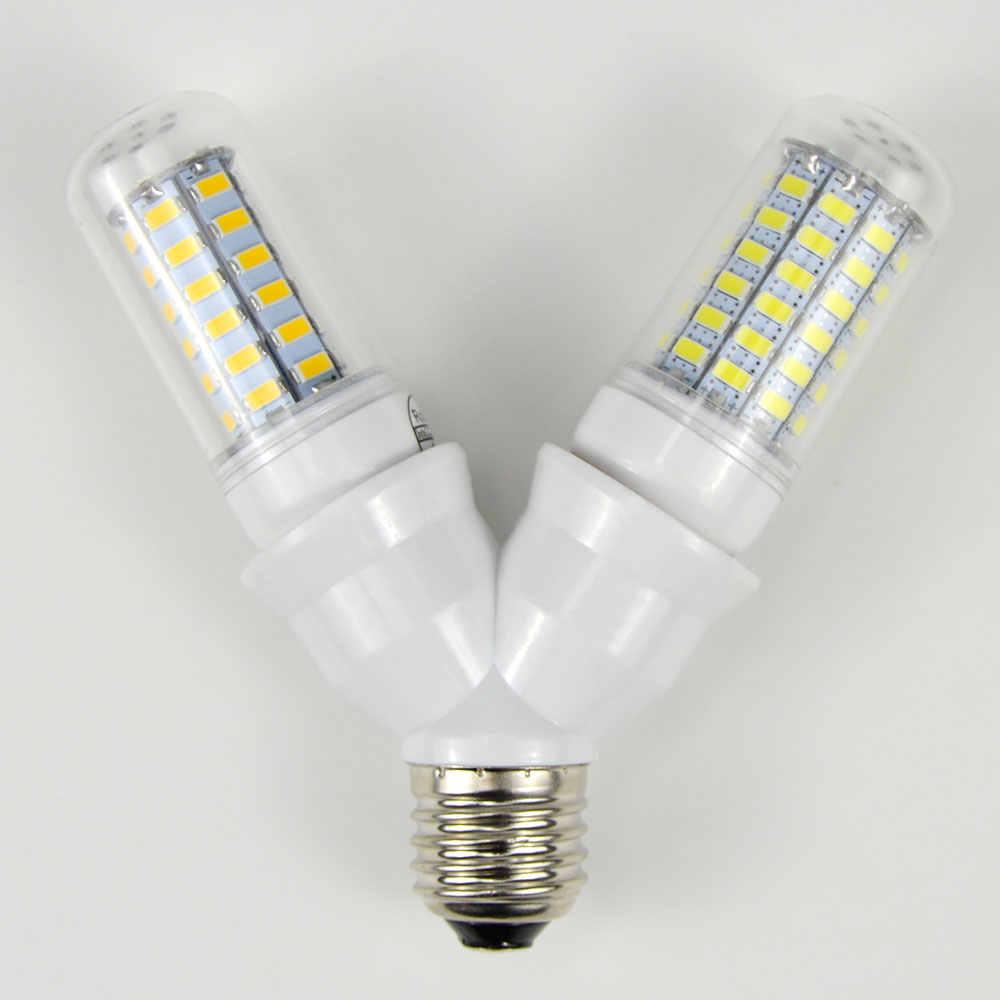 1 шт. противопожарные Материал E27 до 2 E27 держатель лампы конвертер преобразование гнезда патрон для лампочки Тип 2E27 Y Форма сплиттер адаптер