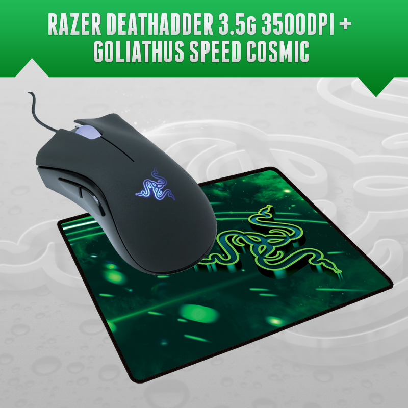 Razer Gaming-Mouse Goliathus-Speed 3500 DPI 1 270mm-X-215mm-X-3mm Cosmic-Edition
