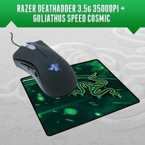 Image 1 - Razer Deathadder 3500 DPI Gaming Mouse +  Razer Goliathus Speed Cosmic Edition Mousepad 270mm x 215mm x 3mm, Free Shipping