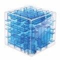 Velocidad 3D Laberinto Cubo 9.5*9.5*9.5 CM Cubo Mágico Rompecabezas Laberinto Bola Rodando juguete Educativo Juego de regalos para Los Hijos Adultos Niños
