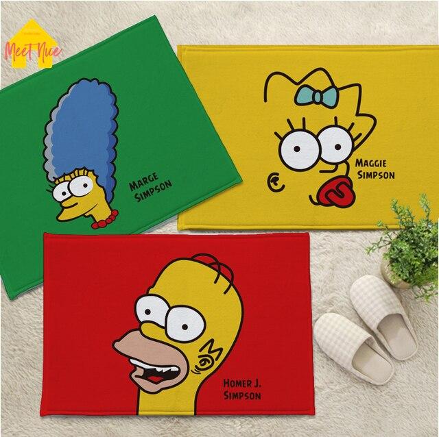 Meet Nice The Simpsons Print Door Floor Hallway Living Room Bathroom