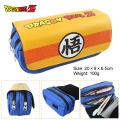 ball pen word Wu wallet seven dragon ball anime turtle word high-capacity double zipper wallet stationery pencil case