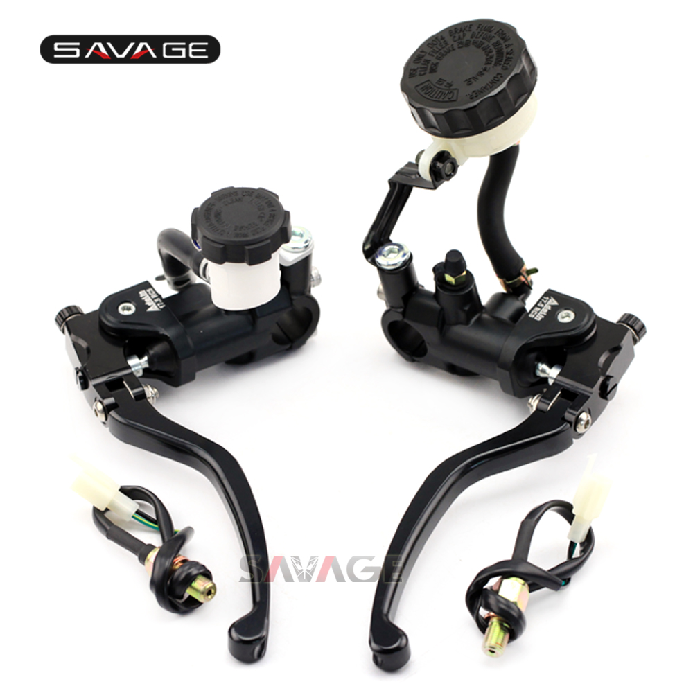 Brake Clutch Radial Master Cylinder Lever For SUZUKI GSF 1200/1250 BANDIT SV1000 GSX 1250/1400 V-strom 1000 B-KING billet extendable folding brake clutch lever for suzuki gsx 650 f dl1000 v storm sv1000s tl1000r gsf 1200 1250 bandit n s 01 06