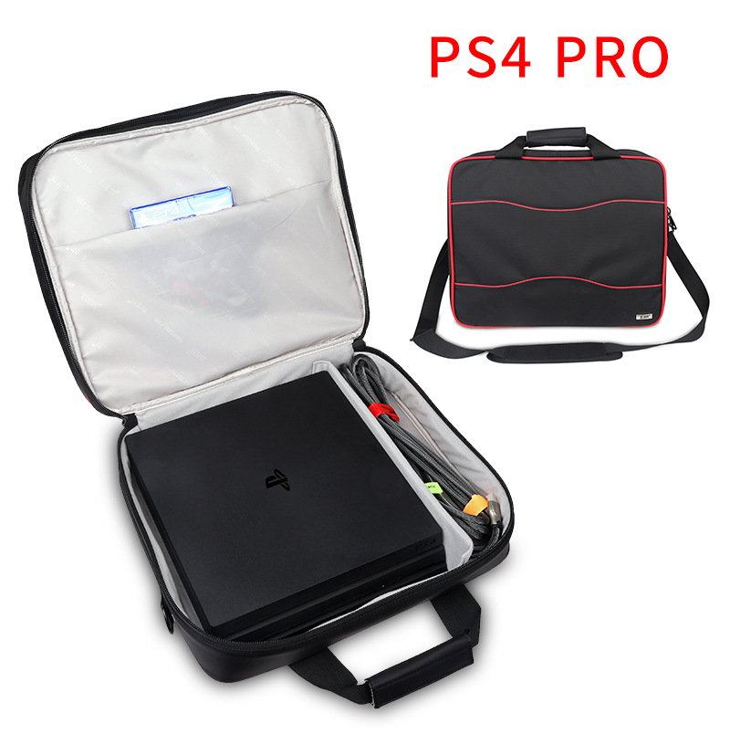 For Sony PS4 PRO for PS4 pro /XBOX 360 Video Player Cases /camera bags Waterproof Digital Protect Storage Bag Travel Carry Case bubm game bag for sony vr ps4 video game player game cases waterproof digital protect storage bag travel carry shoulder bag