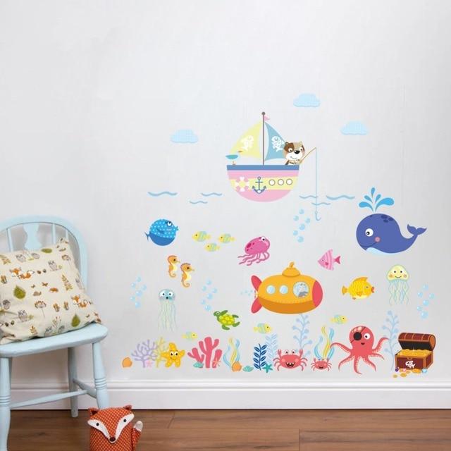 Fish Bubble Wall Stickers 6