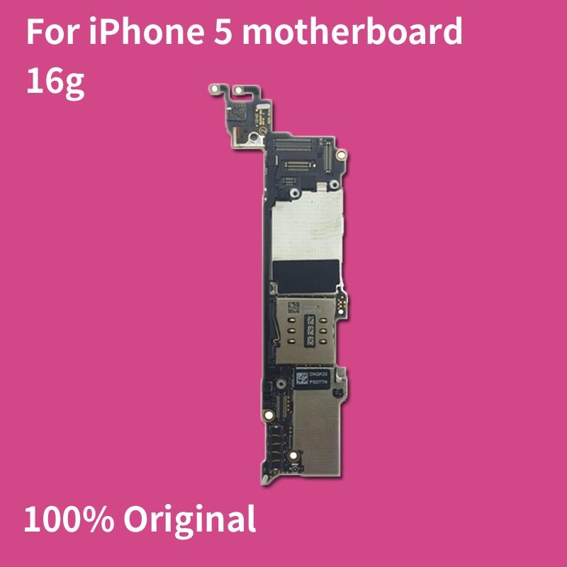 Logic Board For iPhone 5 Motherboard 16G ROM Original iOS