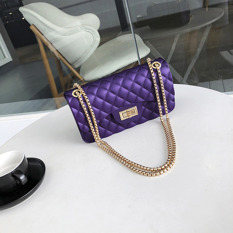 Crossbody Bags For Women 2018 Ladies New Arrival Lozenge Flap Chain Lock Elegant Female Shoulder Bag Small Matte Messenger Bags antbook women chain messenger bags fashion new female solid small shoulder bags jelly small lock crossbody bag for women bags