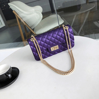 Crossbody   Bags   For Women 2018 Ladies New Arrival Lozenge Flap Chain Lock Elegant Female Shoulder   Bag   Small Matte Messenger   Bags