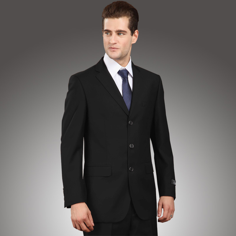New Arrival black Suits For Men three Button Mens Suits Slim Fit ...
