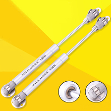 100N /10kg Copper Force Cabinet Door Lift Support Gas Strut Hydraulic Spring Hinge Kitchen Cupboard Hinge Furniture Hardware [haotian vegetarian] chinese ming and qing furniture antique copper accessories copper hinge door hinge htf 109