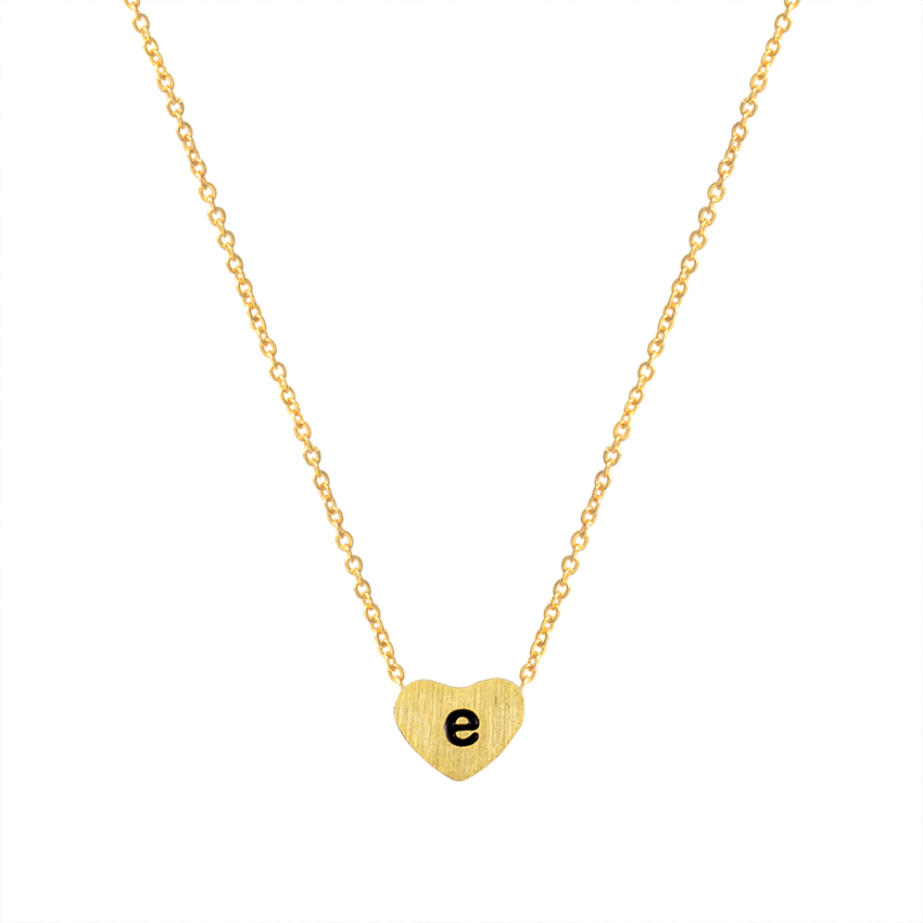 Collier Femme Smallcase Letters