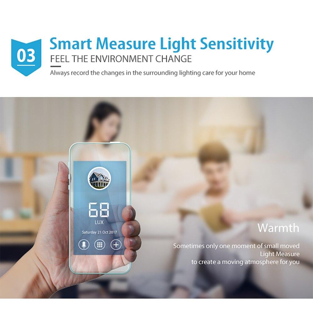 COOLCAM Alarm-System Motion-Sensor Z-Wave Home-Automation Plus NAS-PD02Z PIR Temperature