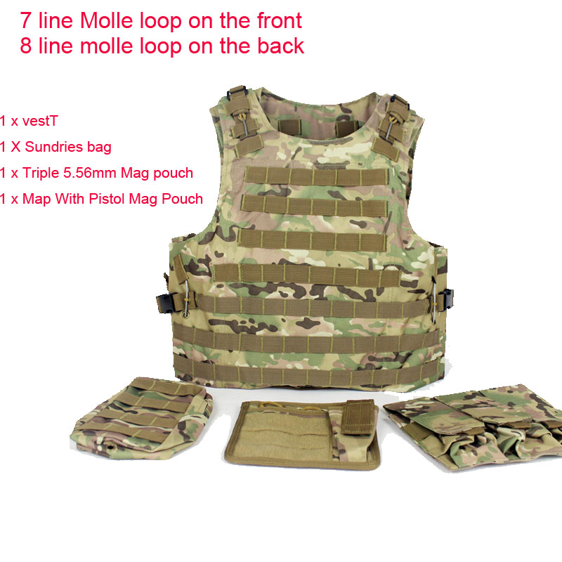 Military-Tactical-Vest-Assault-Airsoft-SAPI-Plate-carrier-Multicam-Army-Molle-Mag-Ammo-Chest-Rig-Paintball (2)