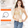 Christmas gift 2017 fashion maternity Bra Breastfeeding clothes with Breast Pump sleep bras for pregnant women Nursing Bras