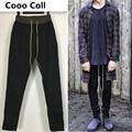 Новая Мода мужские брюки Джастин Бибер Тонкий Jogger Страх бог брюки kanye west Штаны Длинные брюки Черный Серый Cooo Coll