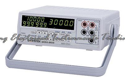 Compteur de résistance Micro ohm Gwinstek GOM802 à arrivée rapide