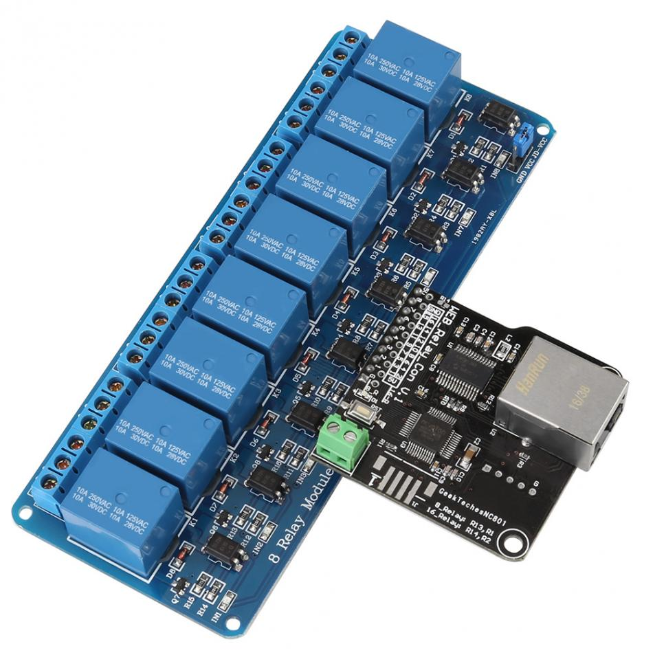 Ethernet Control Module Lan Wan Network Web Server Control