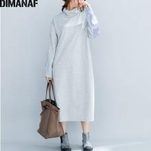 Cotton Winter Lady Dress