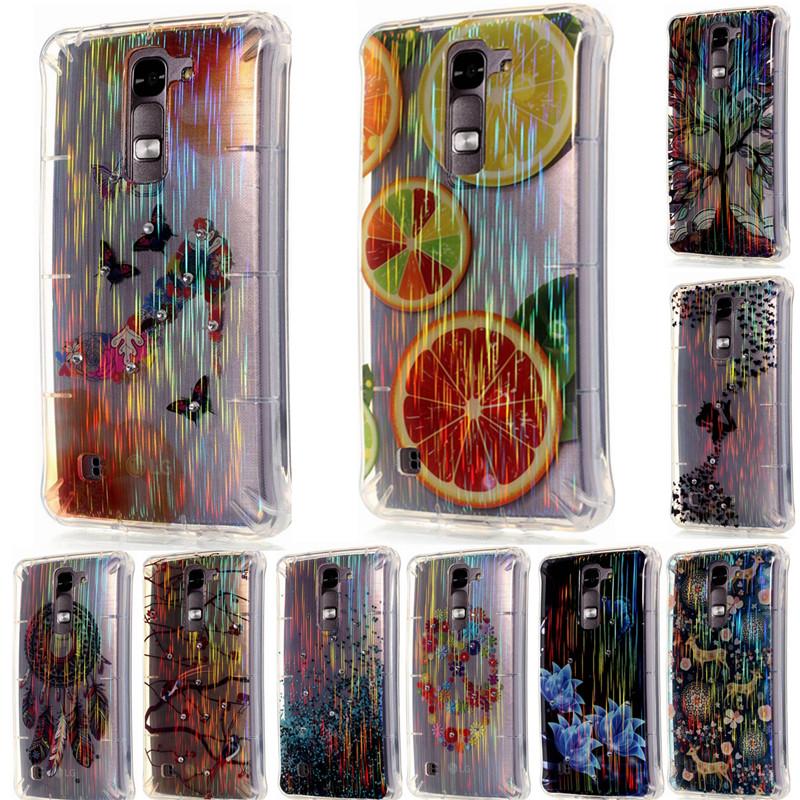 rboles de diamantes de aves flores tacones color fantasa cepillo glaring cajas del telfono de tpu