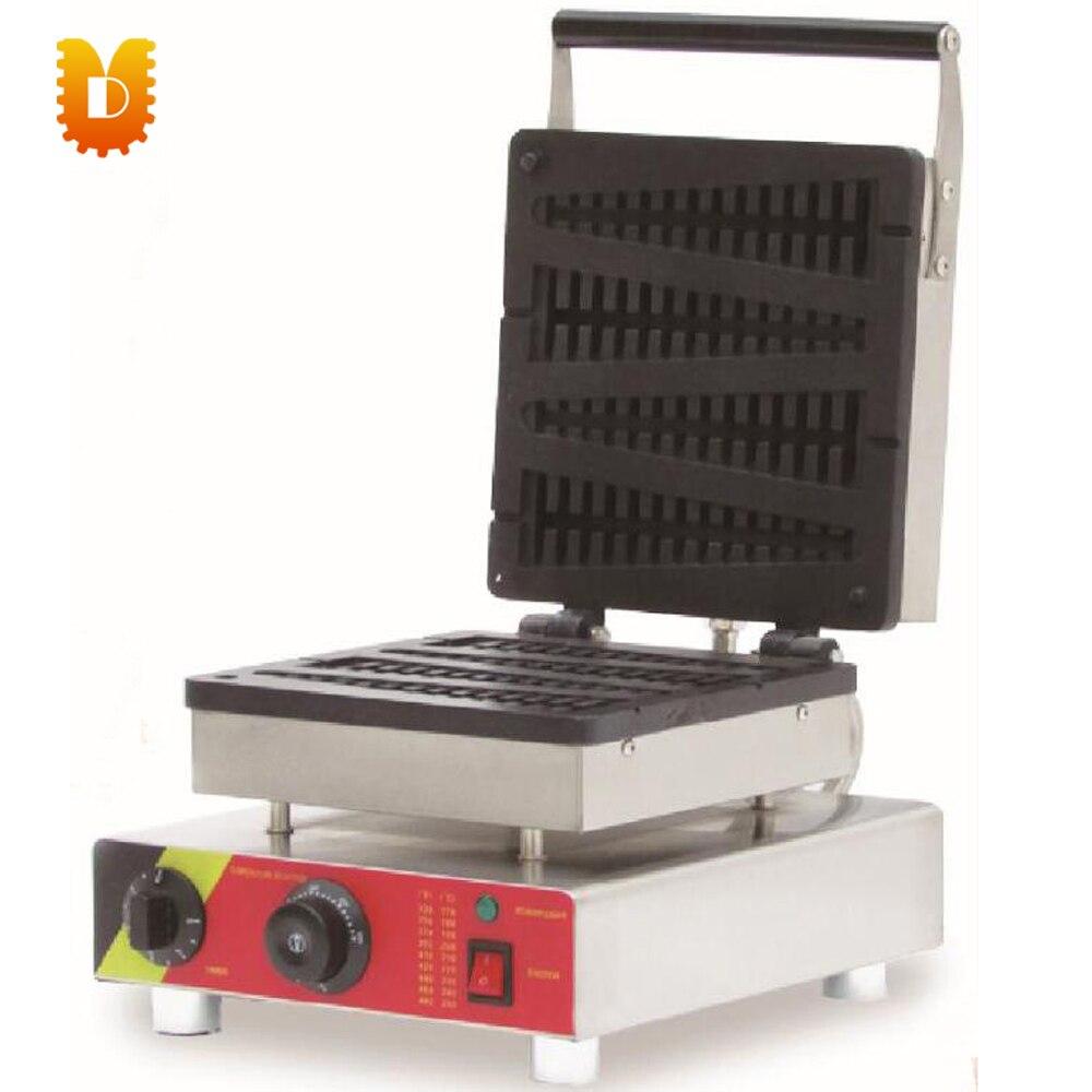 4 PCS pine waffle making machine electrical pine waffle maker only last 4 EU plug 220v
