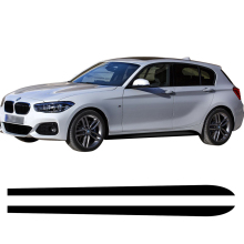 M Performance Car Door Side Stripe Sill Skirt Sticker Decal SPORT Style for BMW 1 Series F20 F21 118i 120i 125i 128i 135i