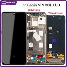 Witrigs AMOLED Voor Xiao mi mi 9 lcd touch Screen Digitizer Vergadering Mi 9 9SE se vervanging