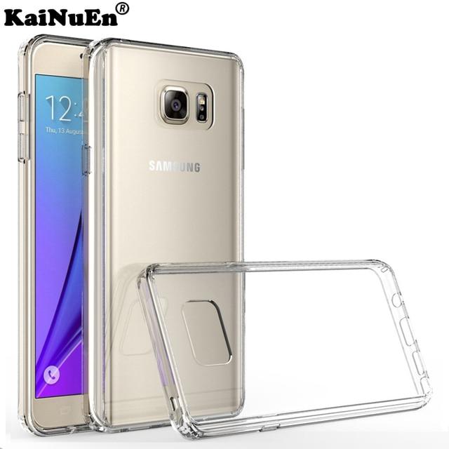 KaiNuEn Silicon phone case for Samsung Galaxy note 3 4 5 note3 note4 note5 Silicone 3d tpu original Luxury soft back Cover coque