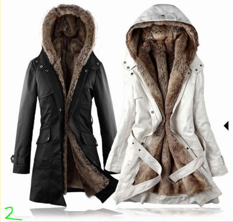 Removable Lining Womens Long Design Faux Fur Ur Coats Winter Warm Coat Jacket Clothes Womens Clothing As Snow Wear In Parkas From Womens Clothing On
