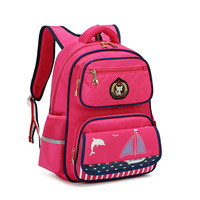 New Kids School Bags Children Backpacks Girls&Boys Backpack Schoolbag Mochila Bookbag Big&Small Size Kids Baby Bags Grade1 6