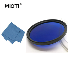 SIOTI 30/37/43/62/67/72/77mm Full Camera Color Filter with Cleaning Cloth for Canon for Nikon for Sony for DSLR Camera Lens zomei pro ultra slim mcuv 16 layer multi coated optical glass uv filter for canon nikon hoya sony lens dslr camera accessories