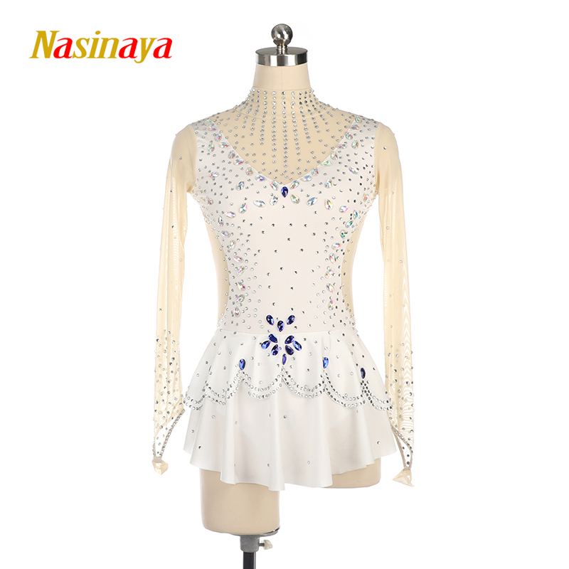 Customized Rhythmic Gymnastic Dress Leotards Dance Costume Bodysuit Aerobics Sports Wear Training Performance Child Adult Girl 3