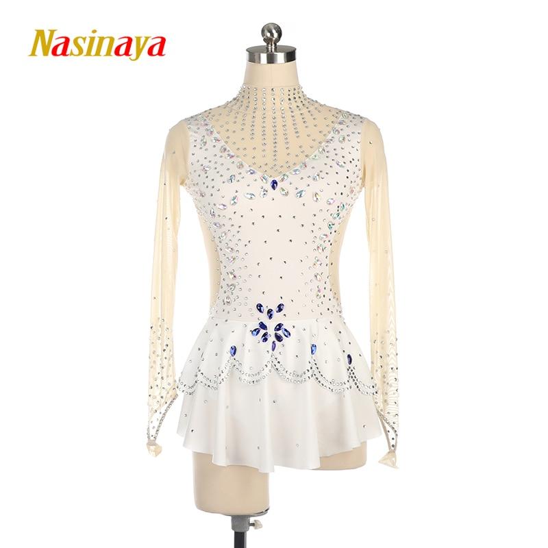 Personnalisé rythmique gymnastique robe justaucorps danse Costume body aérobic tenue de sport formation Performance enfant adulte fille 3