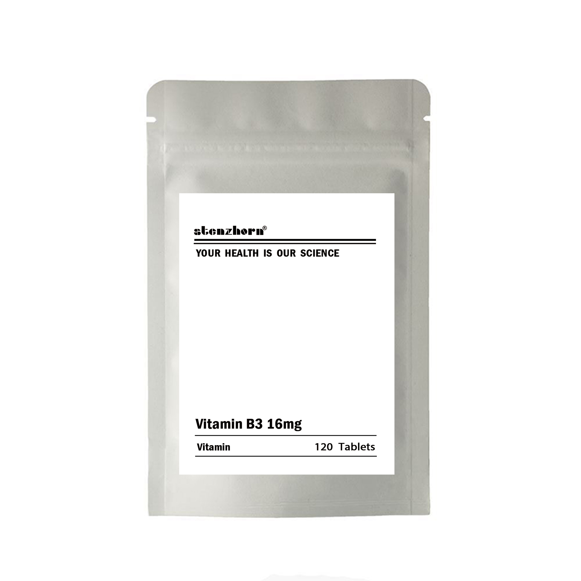Multifunctional Supplement Vitamin B3 16mg 120 Units 16mg Quality Assurance