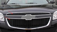 2PCS Auto Part Fit For Chevrolet Epica 2013 Front Grille Grill Overlay