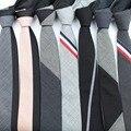 Comercial de Lujo de Lana Clásica de Color Patchwork Corbata Para Hombre Corbatas Corbatas Diseñador Estilo Europeo Hecho A Mano de Costura