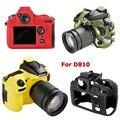Мягкий силиконовый чехол для камеры с имитацией текстуры  Защитная сумка для Nikon D7500 D800 D810 D500 D4 D4s D5  сумка для камеры
