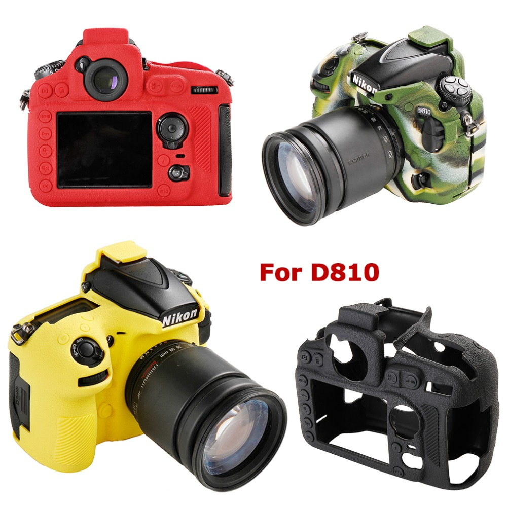 Simulation texture Soft Silicone Skin Case Camera Body Cover Protector  Bag For Nikon D7500 D800 D810 D500 D4 D4s D5  Camera BagSimulation texture Soft Silicone Skin Case Camera Body Cover Protector  Bag For Nikon D7500 D800 D810 D500 D4 D4s D5  Camera Bag