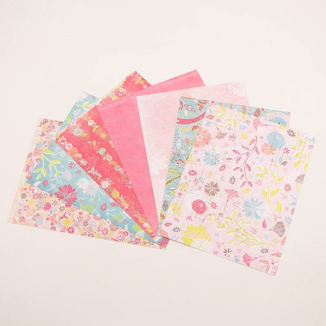 14 Sheets Scrapbooking Paper Handmade DIY Photo Album Background Craft Card Art