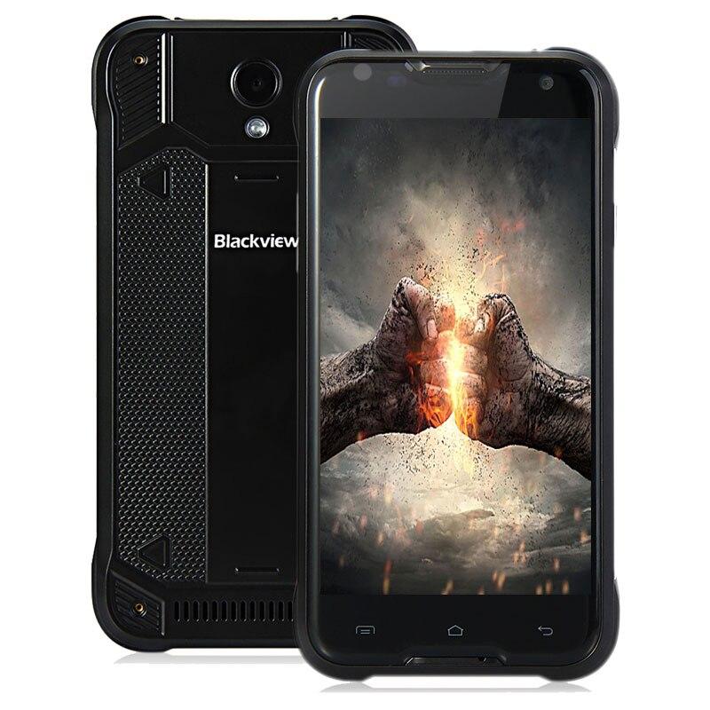 Цена за BLACKVIEW BV5000 4G Смартфон 5.0 дюймов Android 5.1 IPS Экран MTK6735 Quad Core 2 ГБ RAM 16 ГБ ROM IP67 Водонепроницаемый Мобильный телефон
