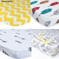 EGMAOBABY (drap housse 1 pièces) couvre matelas lit bébé 1 pièces 100% coton drap de lit bébé pour bébé fille garçons 130x70cm berceau|Ensembles de literie|Mère et enfant -