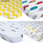 EGMAOBABY (Fitted sheet 1pcs) Baby bed mattress cover 1pcs 100% cotton baby bed sheet for baby girl boys 130x70cm crib